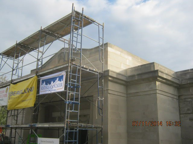 Beecher Mausoleum Progress Photos 044