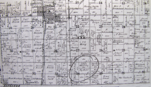 1909 County Land Ownership Map, Hy Bohl