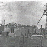 1913 mausoleum under construction