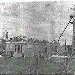1913 mausoleum under construction