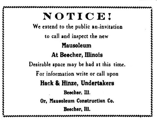 1914 May 12 Chicago Star - Notice - Public invitation