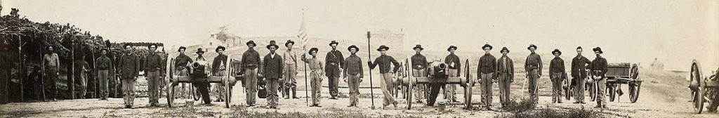 20th_Indiana_Battery_outside_Chattanooga,_TN,_1864