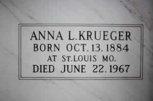 Anna L Krueger