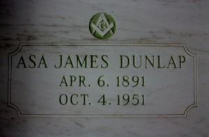 Asa James Dunlap