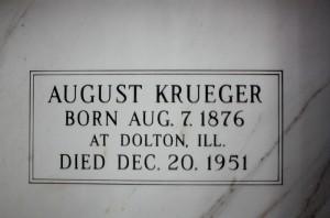 August Krueger