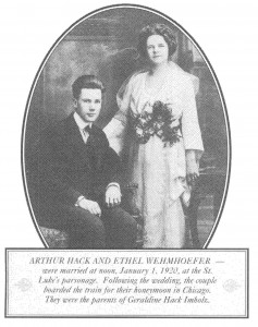 Arthur Hack and Ethel Wehmhoefer