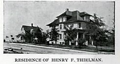 Atlas of Will County, IL 1909, George A. Ogle & Co. Henry Thielman residence