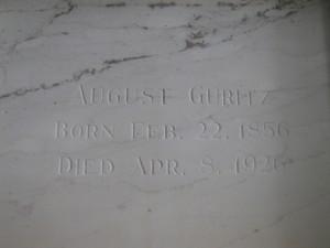 August Guritz