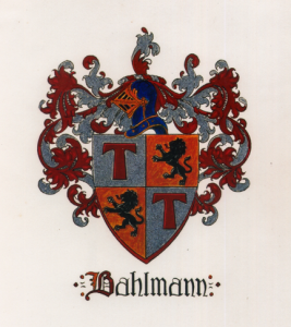 Bahlmann Family Coat of Arms