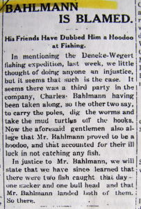 Bahlmann is to Blame 10-18-1907