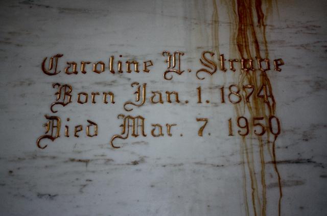 Caroline L Struve Beecher Mausoleum