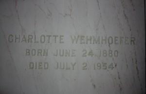 Charlotte Wehmhoefer