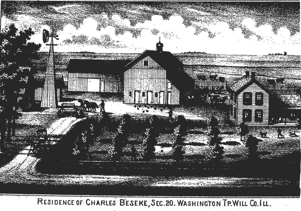 Carl Beseke Homestead, section 20