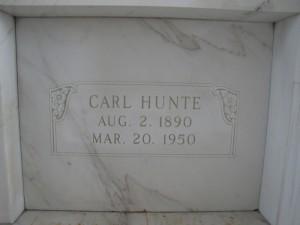 CARL HUNTE