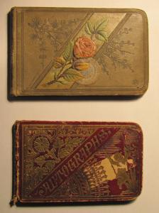Autograph Books 1884 - 1888