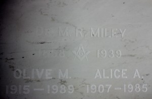 DR. M.R. MILEY & OLIVE M. & ALICE A. MILEY (800x525)