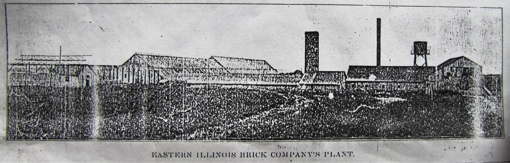 "Eastern Illinois Brick Co. 1902 ""Beecher for Brick"""