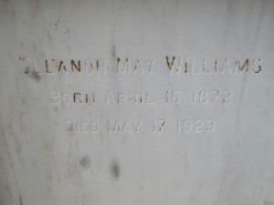 ELENOR MAY WILLIAMS