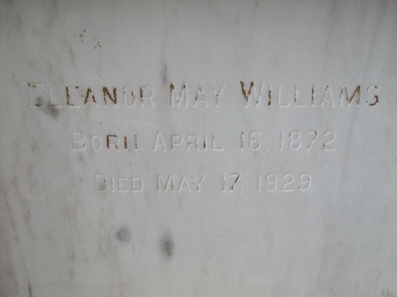 ELENOR MAY WILLIAMS