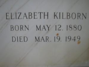 ELIZABETH KILBORN