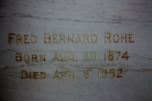 Fred Bernard Rohe
