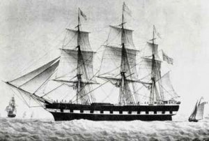German Immigrant Sailing Vessels