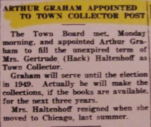 Graham Town Collector 1947
