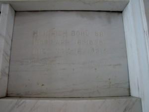 HEINRICH BOHL SR.