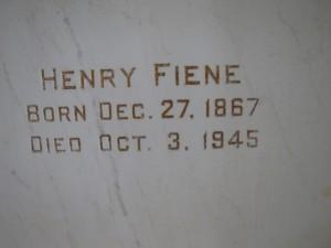 HENRY FIENE