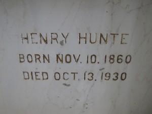 HENRY HUNTE