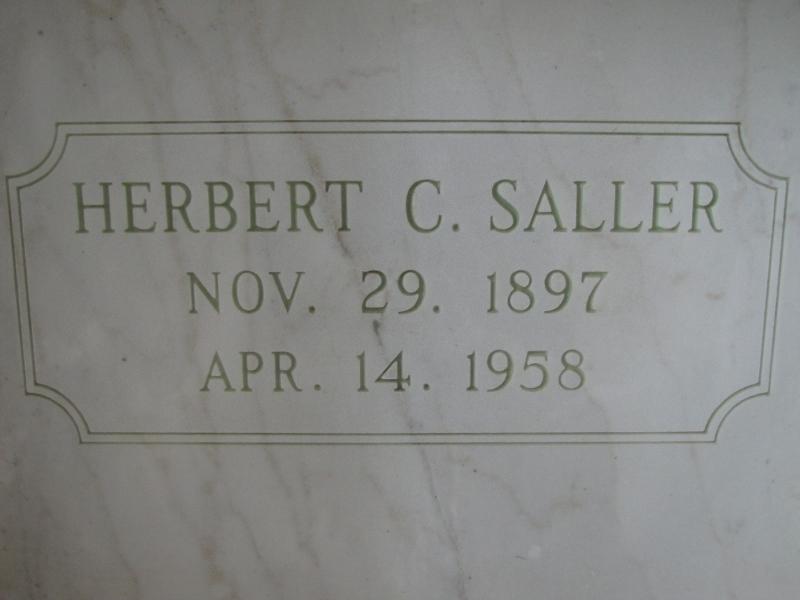 HERBERT C. SALLER