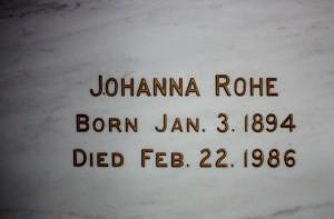 Johanna Rohe