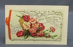 example of a 1909 Birthday Card