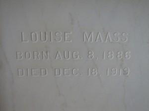 LOUISE MAASS