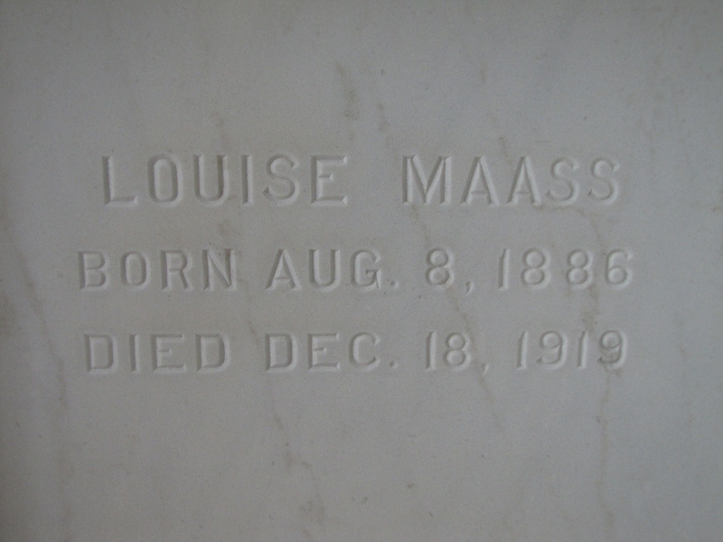 LOUISE MAASS