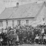 Luthern Church, Ludell, Kansas with Von Engeln Family