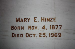 Mary E. Hinze
