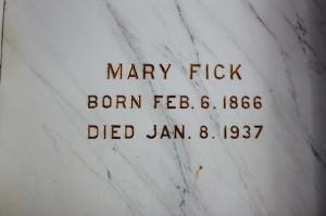 Mary Fick