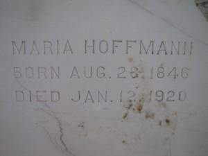 MARIA HOFFMAN