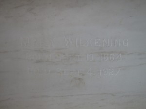 Mary Wilkening