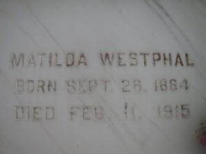 MATILDA WESTPAHL