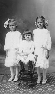 Alice Olive  Bernice 19XX  Olive is the baby in the center