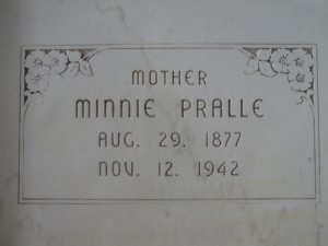 MINNIE PRALLE