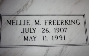 Nellie M. Freerking