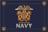 Navy half inch