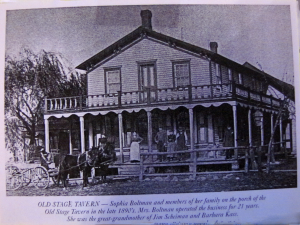 Old Stage Tavern 1890's