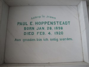 PAUL E. HOPPENSTEADT