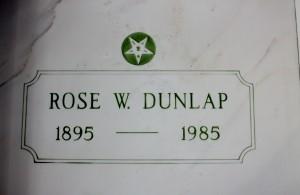 Rose W. Dunlap