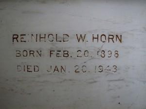 Reinhold W. Horn