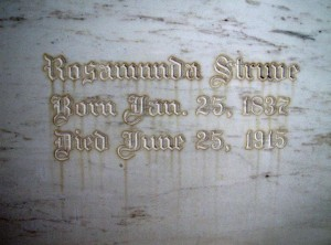 Rosamunda Struve